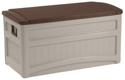 Suncast DB8000B Deck Box with Wheels (Patio Storage Chest compare prices)