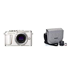 Olympus Pen E-PL10 White with Step Up Kit