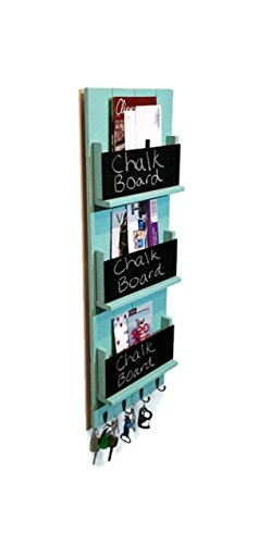 Magazine Holder - Mail Holder - Mail Organizer - Mail Station - Entryway Organizer - Key Organizer - Office Organizer - Key Hook - Key Holder