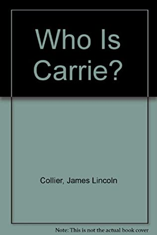 book cover of Who Is Carrie?