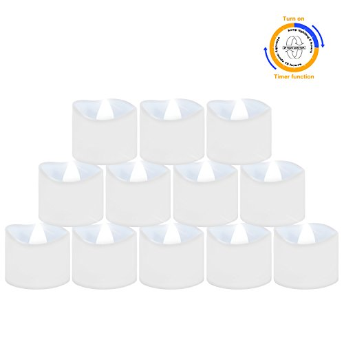 led candle timer bright - 6