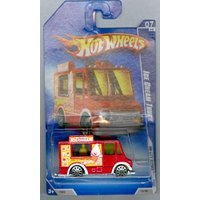 Hot Wheels 2009-113 HW City Works Red Ice Cream Truck 1:64 Scale