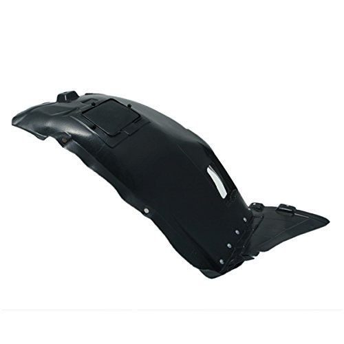 CarPartsDepot, Passenger Right Side Front Section Fender Liner Splash Shield RH, 378-12114-12 BM1251114 51717059380 (328i Splash Bmw Shield)