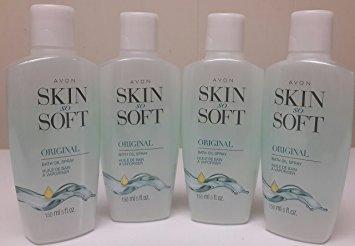 4 Pack Avon Skin So Soft 5oz. Spray Bottle Body Care / Beauty Care / Bodycare / BeautyCare