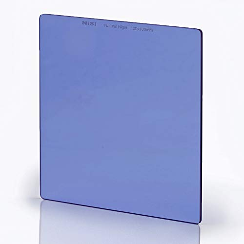 NiSi 100x100mm Natural Night Filtro Reducir la Contaminacion Luminica, Vidrio Optico,IR Nano Multicapa Revestimiento