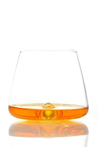 TNG Handcrafted Whiskey Glass, Set of 2 - Prime Lead-Free Ultra Clarity Glass - Perfect for Drinking Bourbon or Scotch - Deluxe Gift Box. by TNG Glassware