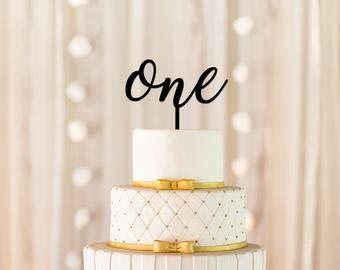 Decoración para tarta con texto en inglés