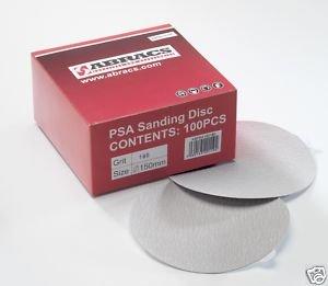 Abracs Psa (Pressure Sensitive Adhesive) Sanding Discs 6' 150Mm X 80G X 10Pcs
