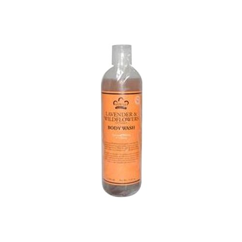 Nubian Heritage Body Wash, Lavender and Wildflower, 13 Fluid Ounce