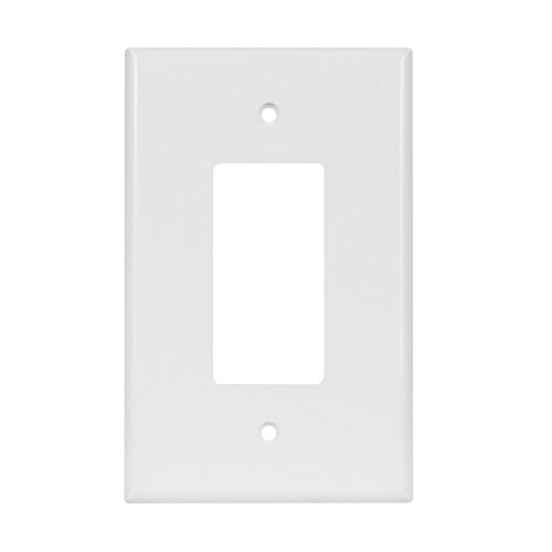 ENERLITES Decorator Light Switch or Receptacle Outlet Wall Plate, Over-Size 1-Gang 5.5