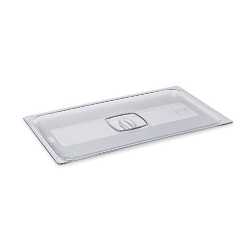 Rubbermaid Commercial Full-Size Cold Food Pan Cover, FG134P00CLR by Rubbermaid Commercial Products (Image #1)