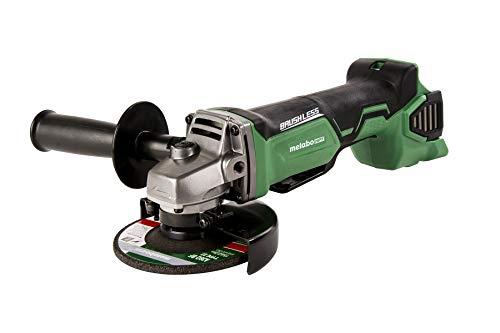 Metabo HPT G18DBALQ4 18V Cordless Brushless 4-1/2-Inch Angle Grinder, Tool Only - No Battery, Compatible w/Hitachi/Metabo HPT 18V Lithium Ion Slide-Type Batteries, Kick-back Protection