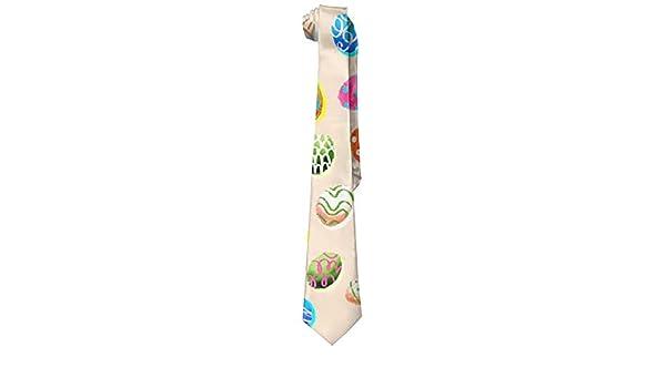Jxrodekz Moda Huevos Corbata para hombre Corbata larga Corbata ...