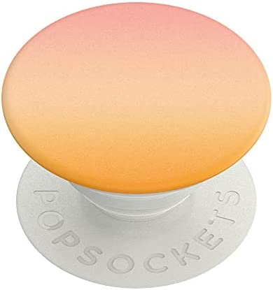 PopSockets PopGrip - Expanding Stand and Grip with a Swappable Top for Smartphones and Tablets - Sherbet Sunset