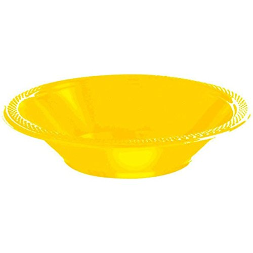 Soup Costume Of Bowl (12oz Yellow Plastic Bowls x)