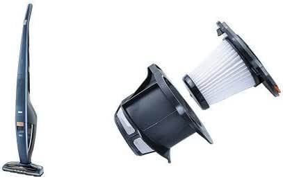 Pack AEG CX8-2-95IM Power Aspiradora escoba con batería de Litio TurboPower HD de 32,4 V, color azul índigo + AEG AEF142 (filtro extra): Amazon.es: Hogar