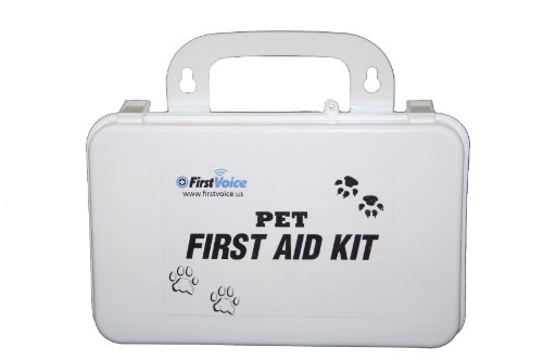 First Voice PET01 Basic Pet First Aid Kit - Sporting Dog First Aid Kit
