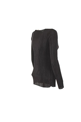 VICOLO T-Shirt Donna Tu Nero To0391 Primavera Estate 2017