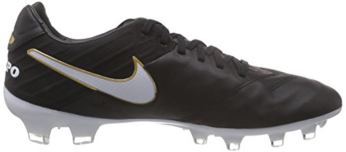Men FG Cleats Soccer Black New Tiempo Legacy Nike II q67z4