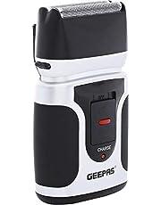 جيباس GSR21N تعمل مع رطب و جاف لل رجال - ماكينة حلاقة شفرة