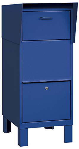 Salsbury Industries 4975BLU Courier Box, Blue