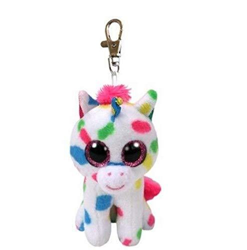 10-15cm Ty Beanie Boos Collection Big Eyes Cream Halloween Ghost Owl Unicorn Dragon Plush Stuffed Doll Kids Toys (T-SJS8017)]()