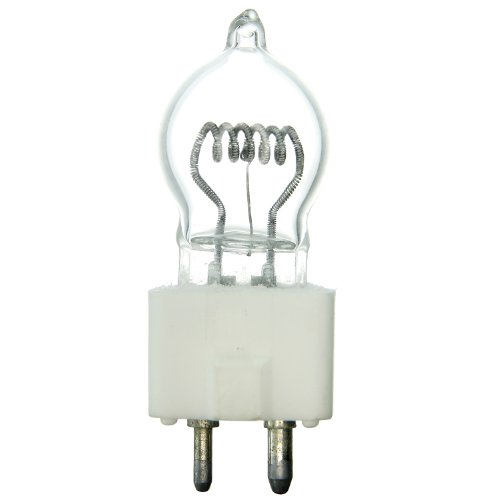 (Sunlite DYS 600W/G7/120V/CL/GZ9.5 600-watt 120-volt Bi-Pin Based Stage and Studio G7 Light Bulb,)
