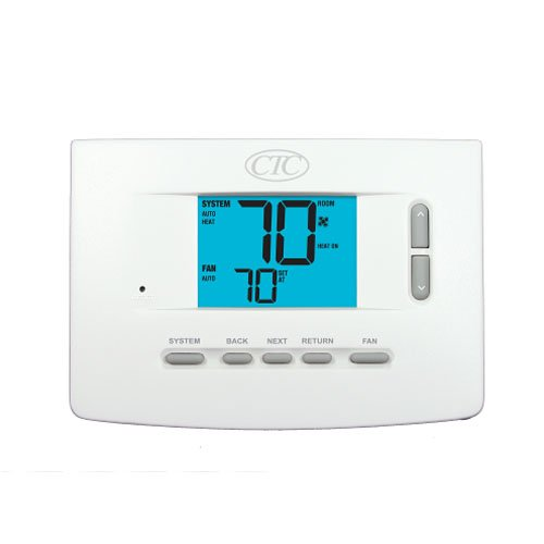 Digital Home Furnace AC Thermostat 1H/1C 1 Heat 1 Cool - CTC 71100N