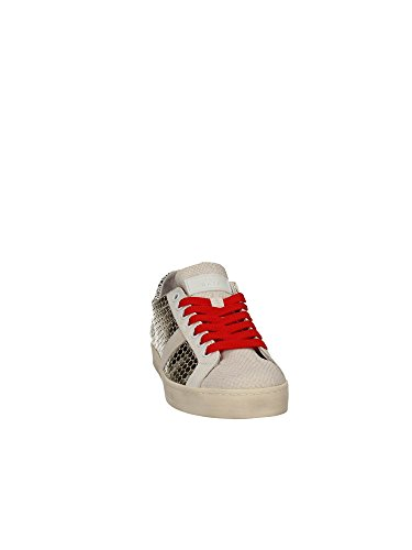 Sneakers Femme Dates laminé platine Collection SS 2017, or, 38