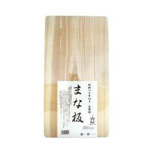 樹齢80年無垢 吉野ひのきまな板 中 【5個セット】 + サンクロレラ サンプル付き   B0752X4QNL