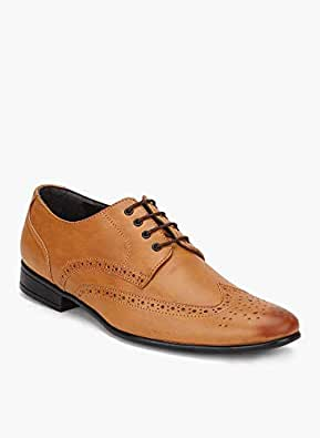 San Frissco Men's Formal Oxford/Brouges/Lace-Ups/Officewear/Partywear/Wingtip/Dress Shoes for Men