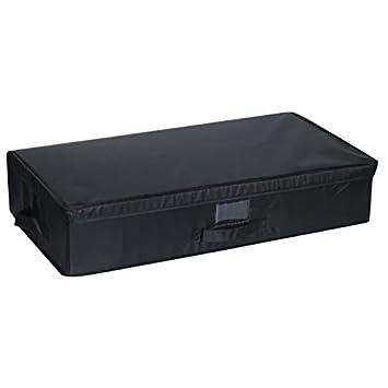 mondex eve715 01 bote de rangement sous lit avec porte etiquette modle l plastique - Rangement Sous Lit