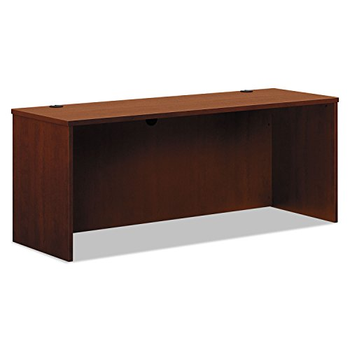 HON BL Laminate Series Credenza Shell - Desk Shell for Office,  72w x 24d x 29h, Medium Cherry (HBL2121) - Hon L-desk
