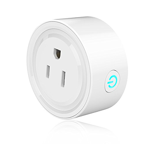 Mini Smart Plug Wi-Fi Enabled, Aimimami Smart Socket,Works with Amazon Alexa, Remote Control Anywhere, No Hub Required