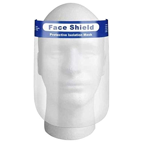 Ayurshreshtha Full Face Shield 350 Microns, Universal Face Protective Visor for Eye Head Protection, Reusable Safety Face Shield for Women and Men-(Pack 0f 1) Price & Reviews