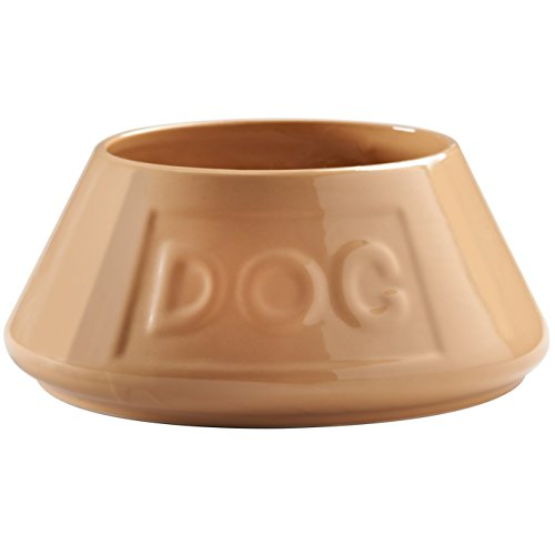 Non-Tip Bowl for Cavalier King Charles Spaniels Chip-resistant stoneware