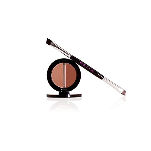 Mally Beauty - Believable Brows - Two-in-One Brow Kit for Defined Arches - Taupe Shade - 0.045 Ounce - MY.2062 ()