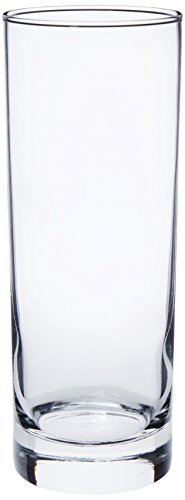 Libbey 16-Ounce Midtown Cooler Glass, Clear, 4-Piece ()