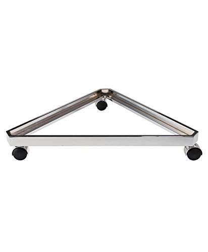 AMKO GP/3TB Triangle Base for Grid with Casters, 3/8