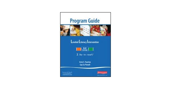 Leveled literacy intervention blue system program guide levels c n leveled literacy intervention blue system program guide levels c n lessons 1 120 9780325020860 amazon books fandeluxe Images