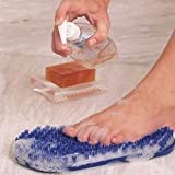 McNaughton Inc Home Products - - Soapy Soles Foot Scrubber - Soapy Soles Foot...
