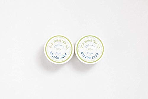 Two 8oz Coconut Milk Body Butters (Company Coconut)