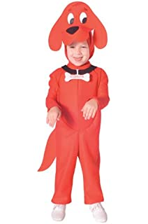 clifford the big red dog costume small - Clifford The Big Red Dog Halloween Costume