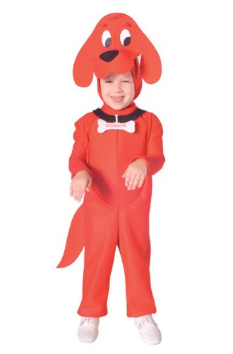 Clifford Costume Toddler (Clifford the Big Red Dog Costume, Toddler)