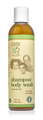 CARA B Naturally Shampoo and Body Wash for Baby 8 oz.