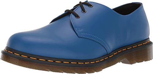 Dr. Martens Men's 1461 3 Eye Lace Ups, Blue, 8 M US