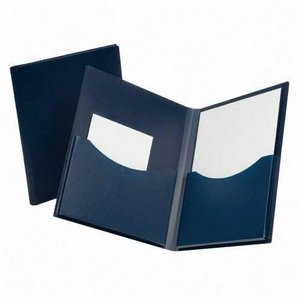 ESS57455 - Oxford Poly Double Stuff Gusseted 2-Pocket Folder