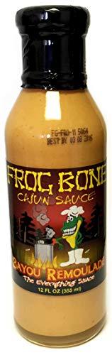 Frog Bone Cajun Bayou Remoulade Sauce, 12 Fluid Ounce Bottle