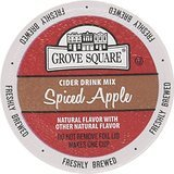 Grove Square Cider Cups, Spiced Apple, Single Serve Cup for Keurig K-Cup Brewers, 24-Count (Pack of - Store Union Square