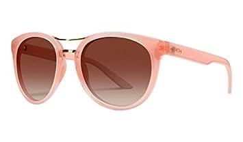 6ab35813d6f63 Smith Optics Womens Bridgetown Lifestyle Polarized Sunglasses Eyewear -  Blush Sienna Gradient by Smith Optics